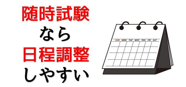 日程を表現している画像