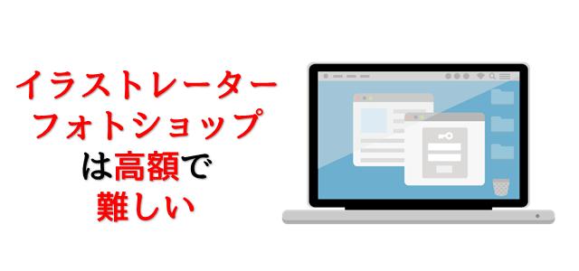 パソコンモニターにアプリが表示されていることを表現している画像