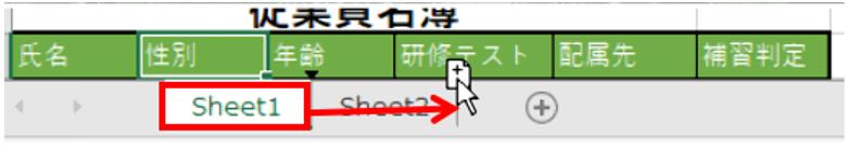 ショートカットキーを使いコピーの手順を表した画像