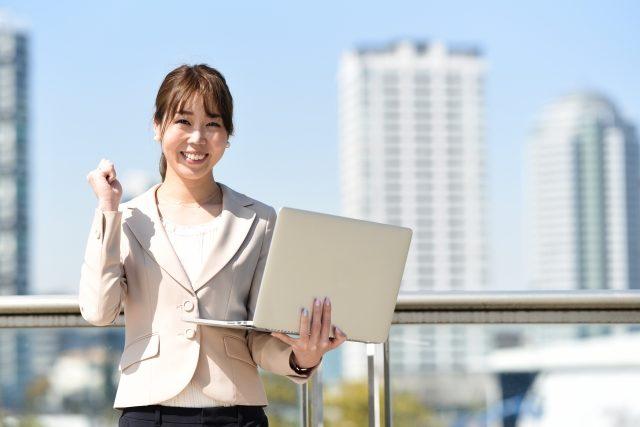 パソコン教室パレハ広島市安佐南区緑井校を紹介する女性