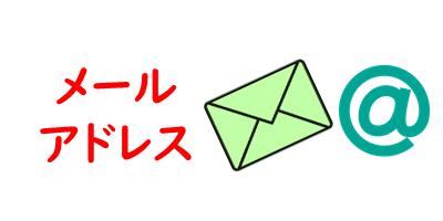 メールアドレスを表現している画像